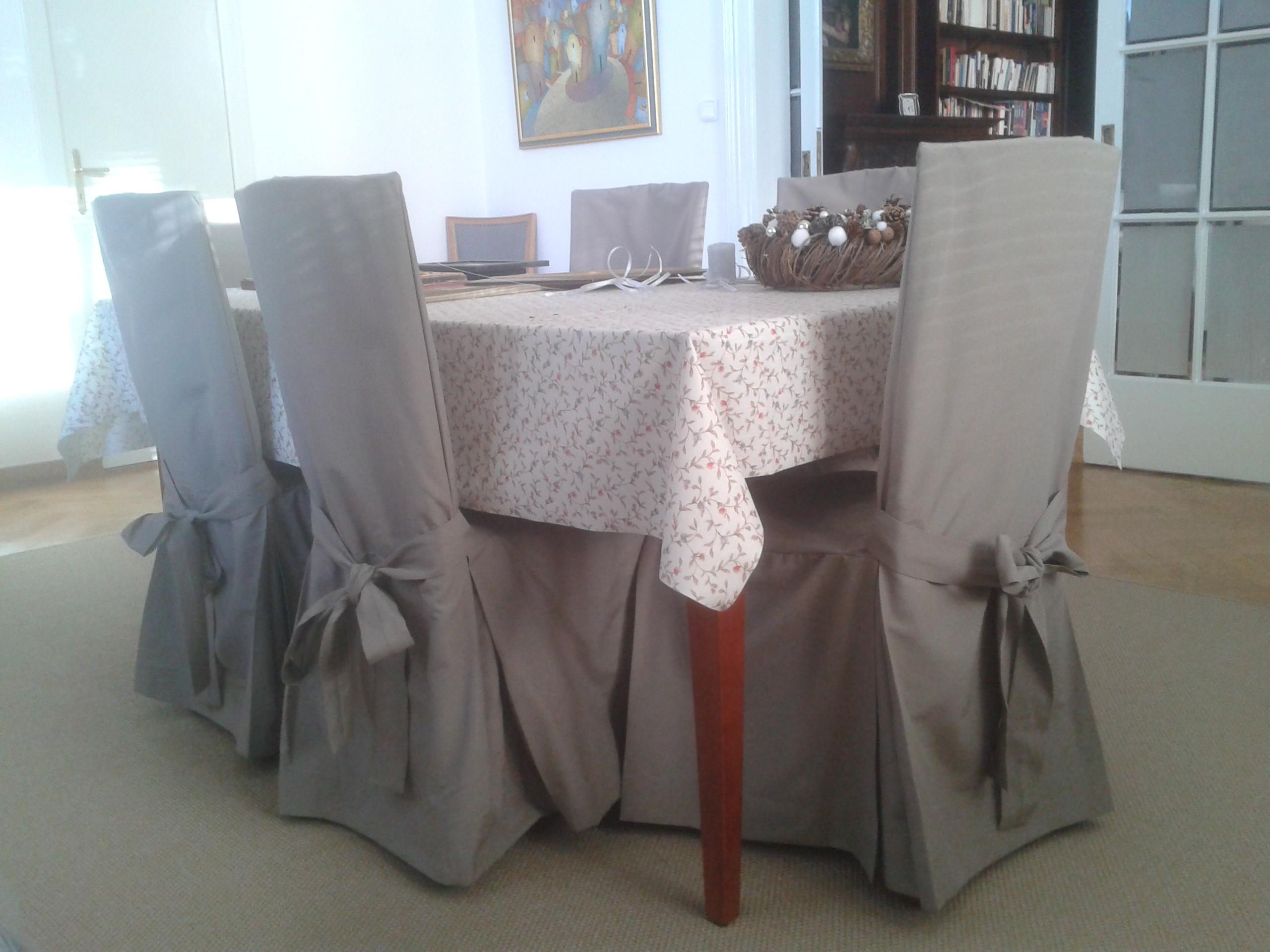 Přehozy - potahy Ikea židlí 7c448def0b3